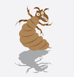 a louse vector image