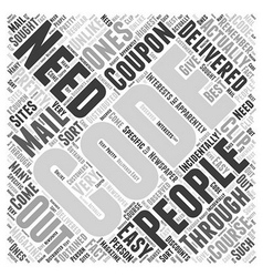 best buy coupon codes Word Cloud Concept vector image