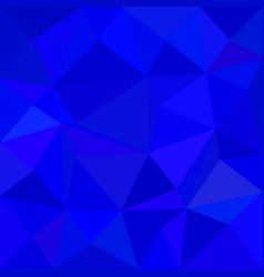 Blue triangle mosaic background - polygon vector