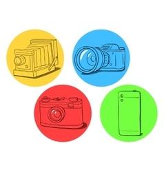 Camera evolution vector