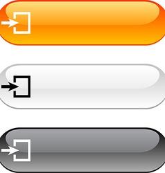 Entrance button vector