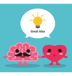 Great idea vector image