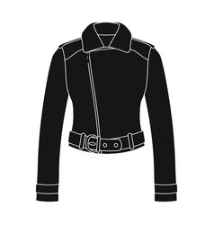 green youth short leather jackets for confident vector image