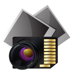 Memory card for photo vector