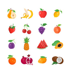 natural food - modern line icons set vector image