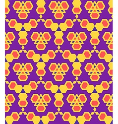 Purple violet red orange abstract geometric vector
