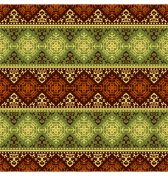 Retro style seamless pattern vector image
