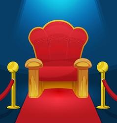 Theater Chair Watch Movie Luxury vector