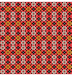 Ukrainian traditional seamless pattern vector image