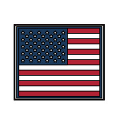 flag united states usa icon image vector image vector image