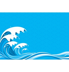 Surf Graphic vector image vector image