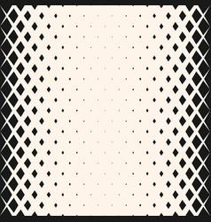 geometric halftone seamless pattern vector image