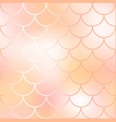 mermaid fish scale pattern background gradient vector image vector image