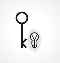 Abstract key vector