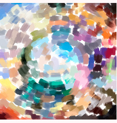 abstract painting colorful background with artist vector image