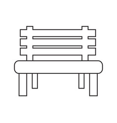 Bench icon design vector