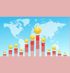 financial technology vector image