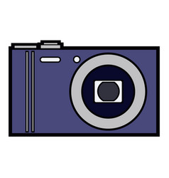 Isolated camera icon vector