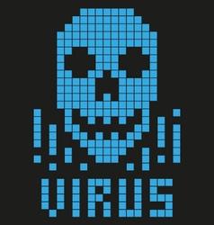 Skull virus 8 bit vector
