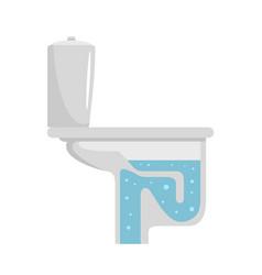 toilet equipment icon flat style vector image