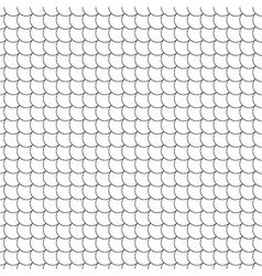 seamless pattern diagonal fish scales vector image