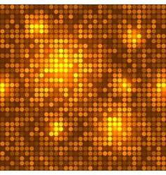 Disco golden background seamless pattern vector image vector image