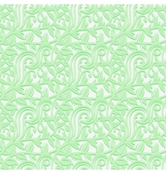 Seamless texture with leafs in the gentle shades vector image vector image