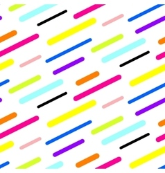Abstract diagonal sticks seamless pattern vector image
