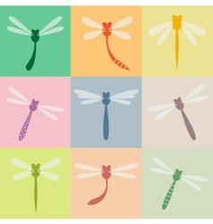 Dragonfly group vector
