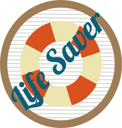Life Saver vector