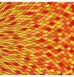 Orange Yellow Abstract Background eps10 vector image