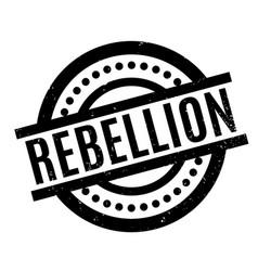 Rebellion rubber stamp vector