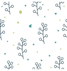 Seamless floral pattern Love vector