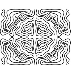 Seamless ripple pattern repeating texture wavy vector