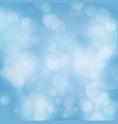 bokeh background sparkling effect warm vector image