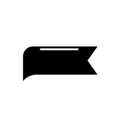label tag icon black sign on vector image