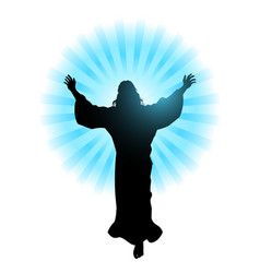 ascension of jesus christ vector image