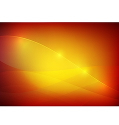 Gradient red and yellow abstract background vector image