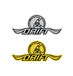 Drift-logo vector