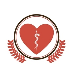 Medical care symbol vector