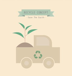 Recycle plant vector