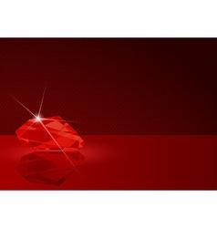 Ruby card vector