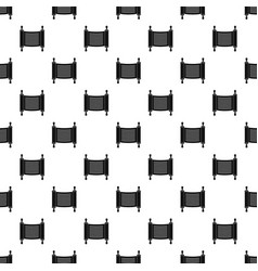 Torah scroll pattern seamless vector