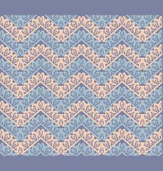 chevron abstract decor seamless pattern vector image
