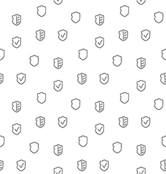 Security seamless pattern vector image