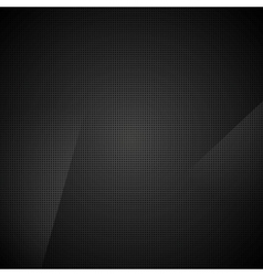 Black abstract dotted texture background vector image vector image
