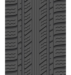 rubber tyre vector image