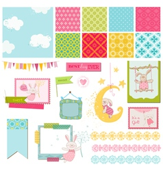 Design elements - babunny sweet vector