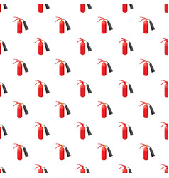 fire extinguisher pattern vector image