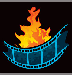 hottest movie premiere vector image